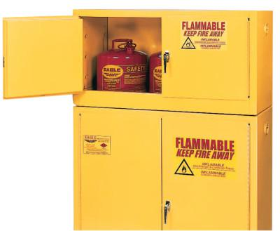 EAGLE MFG Flammable Liquid Storage, Add-On, Self-Closing Cabinet, 15 Gallon