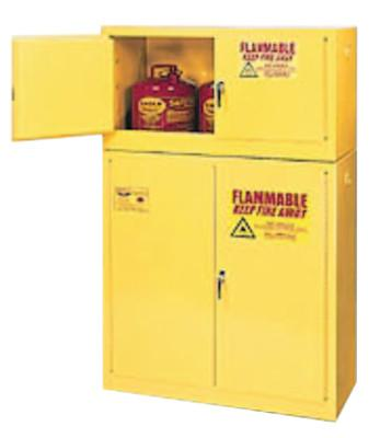 EAGLE MFG Flammable Liquid Storage, Add-On, Manual-Closing Cabinet, 15 Gallon