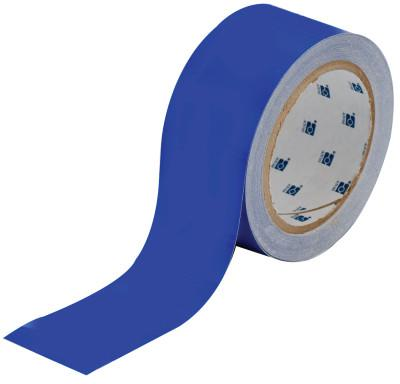 BRADY ToughStripe Floor Marking Tape, 2 in x 100 ft, Blue