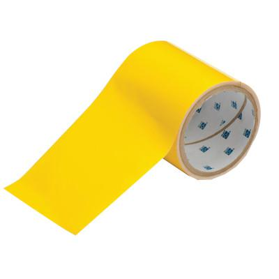 BRADY ToughStripe Floor Marking Tape, 4 in x 100 ft, Yellow