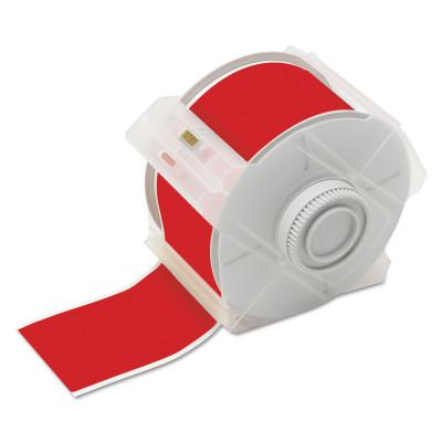BRADY GlobalMark Tapes, 100 ft x 2 1/4 in, Red