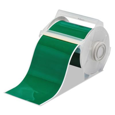 BRADY GlobalMark Tapes, 100 ft x 4 in, Green
