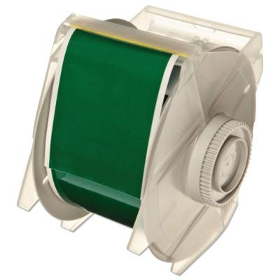BRADY GlobalMark Tapes, 100 ft x 2 1/4 in, Green