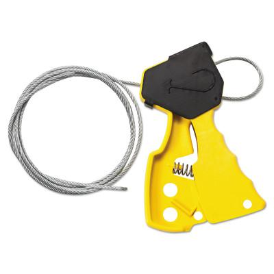BRADY Cable Lockout Devices, Yellow