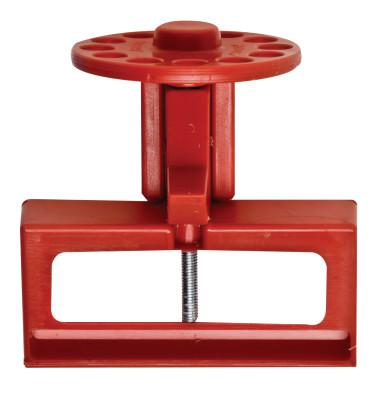 BRADY Prinzing 3-Phase Breaker Lockouts, 0.8 in-3 in Handle Size, Red