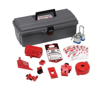 BRADY Lockout Tool Box with Components