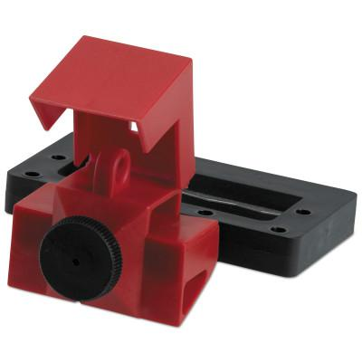 BRADY Oversized Breaker Lockout Devices, 480/600V, Red