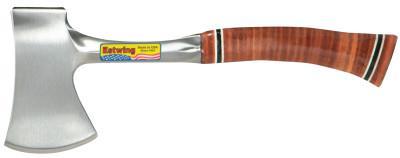 ESTWING Sportsman's Axes, 3 1/4 in Cut, Steel Handle