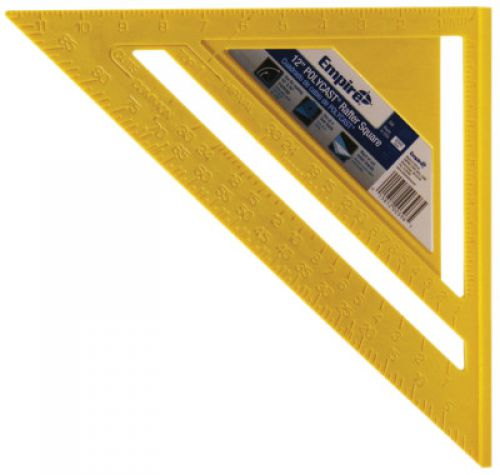 EMPIRE LEVEL Rafter Squares, 12 in, Poly