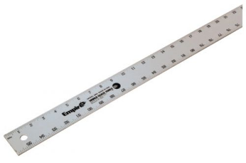 EMPIRE LEVEL Aluminum Straight Edges, Heavy-Duty, 96 in