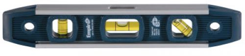 Empire Level Torpedo Levels, Magnetic, Aluminum, 9 in, 3 Vials