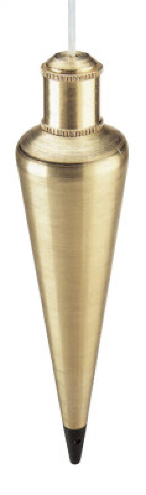 EMPIRE LEVEL Plumb Bobs, 12 oz, Corrosion Resistant Steel/Brass,