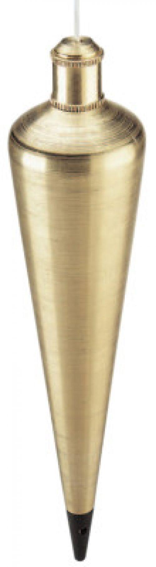 EMPIRE LEVEL Plumb Bobs, 16 oz, Corrosion Resistant Steel/Brass