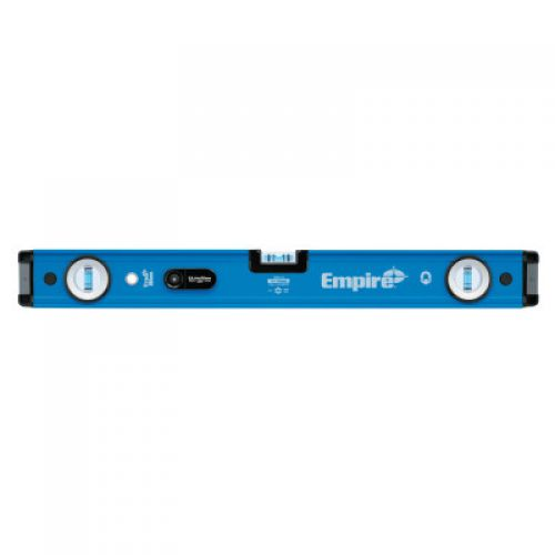 EMPIRE LEVEL UltraView LED Magnetic Box Level, 48 in, 3 Vials
