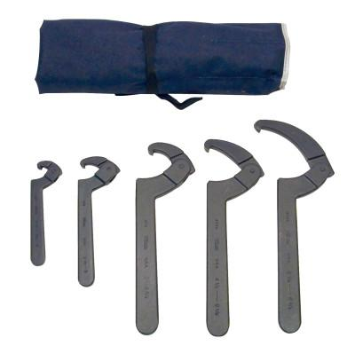 MARTIN TOOLS 5 PIECE SPANNER HOOK WRENCH SET