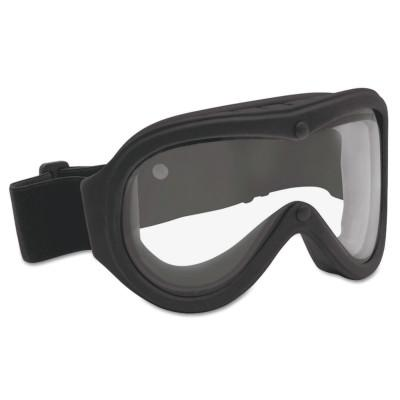 BOLLE SAFETY Chronosoft Safety Goggles, Clear/Black, Ventless