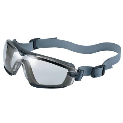 BOLLE SAFETY Cobra TPR Sealed Safety Goggles, CSP, Neoprene Strap, Smoke/Gray Frame