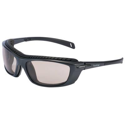 BOLLE SAFETY Baxter Series Safety Glasses, CSP Lens, Platinum Anti-Fog/Anti-Scratch