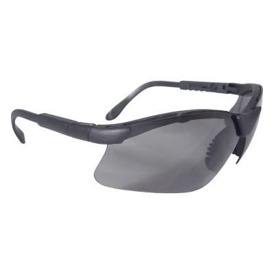 RADIANS Safety Eyewear, IRUV 2.0 Lens, Polycarbonate, Polarized, Black Frame