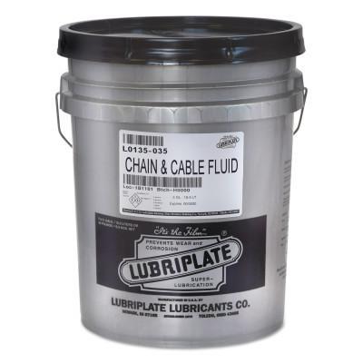 LUBRIPLATE Chain & Cable Fluids, 35 lb Pail