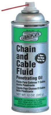 LUBRIPLATE Chain & Cable Fluids, 12 oz Spray Can