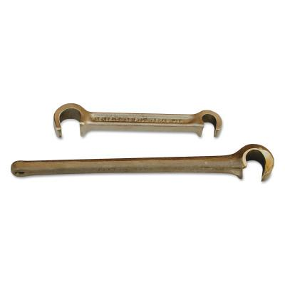 PETOL Titan Valve Wheel Wrenches, Cast Bronze, 8 in, 21/32 in Opening