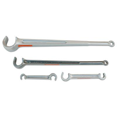 PETOL Titan Valve Wheel Wrenches, Forged Alloy Steel, 15 in, 1 in Opening