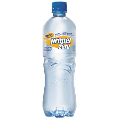 GATORADE Propel Zero Bottles, Lemon, 710 mL, Squeeze Bottle