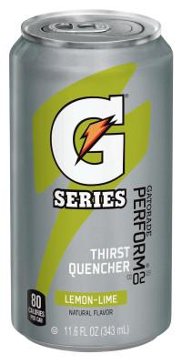 GATORADE Cans, Lemon-Lime, 11.6 oz, Can