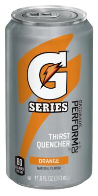 GATORADE Cans, Orange, 11.6 oz, Can