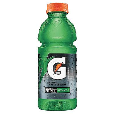 GATORADE Wide Mouth Bottles, 20 Oz, Fierce Green Apple