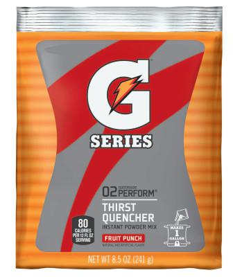 GATORADE Instant Powder, Fruit Punch, 8 1/2 oz, Pack