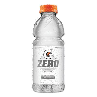 GATORADE G Zero Sugar Thirst Quencher, 20 oz., Bottle, Glacier Cherry