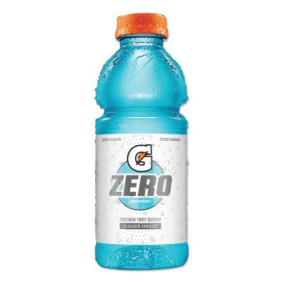 GATORADE G Zero Sugar Thirst Quencher, 20 oz., Bottle, Glacier Freeze