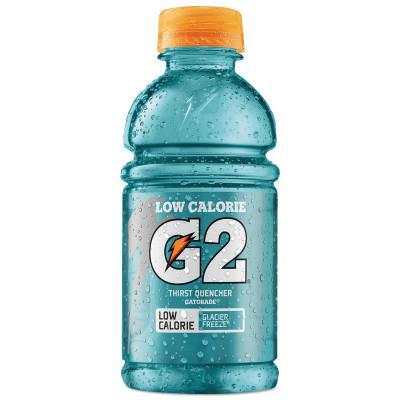 GATORADE G2 Low Calorie Thirst Quencher, Glacier Freeze, 12 oz, Bottle