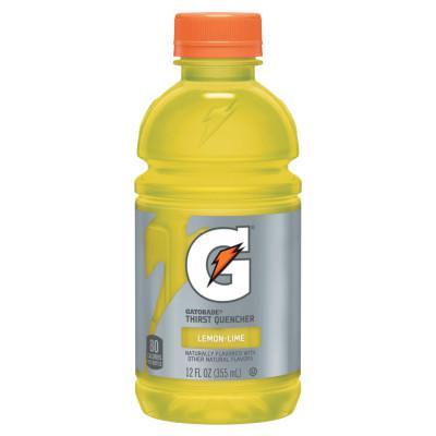 GATORADE Thirst Quencher, Lemon-Lime, 12 oz, Bottle