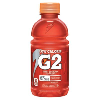 GATORADE G2 Low Calorie Thirst Quencher, Fruit Punch, 12 oz, Bottle