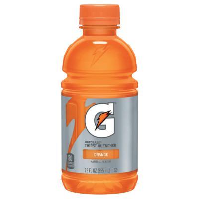 GATORADE Thirst Quencher, Orange, 12 oz, Bottle