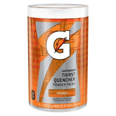 GATORADE Powder Packets, Orange, 1.34 oz, Packet