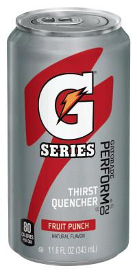 GATORADE Cans, Fruit Punch, 11.6 oz, Can
