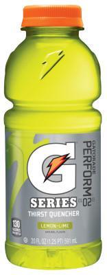 GATORADE Wide Mouth, Lemon-Lime, 20 oz, Bottle