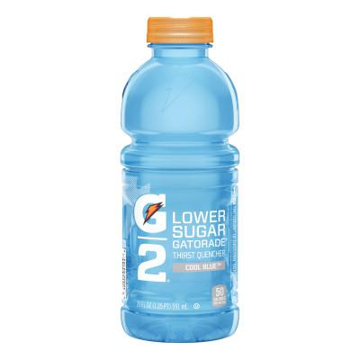 GATORADE G2 Low Calorie Thirst Quencher, Cool Blue, 20oz, Bottle RTD