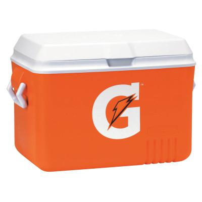 GATORADE Ice Chest, 48 qt, Orange