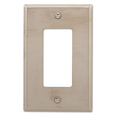 COOPER WIRING DEVICES WALLPLATE 1G DECORATOR MID SS