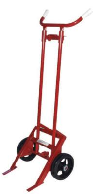 MILWAUKEE HAND TRUCKS Barrel Truck, 2-Wheel, 1,000 lb, 67 in h x 28 1/2 in w