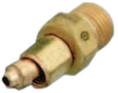 WESTERN ENTERPRISES Brass Hose Adaptors, Male/Female, A-Size, B-Size, RH
