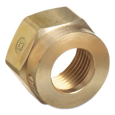 WESTERN ENTERPRISES Regulator Inlet Nuts, Acetylene (MC), Brass, CGA-200