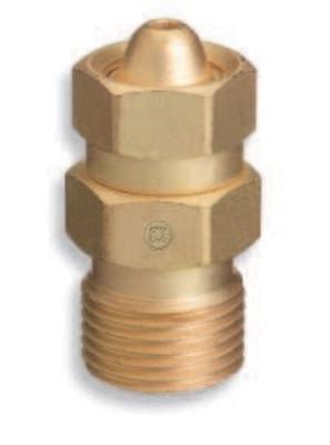"WESTERN ENTERPRISES Brass Cylinder Adaptors, CGA-200 ""MC"" Acetylene To CGA-300 Commercial Acetylene"