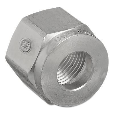 WESTERN ENTERPRISES Regulator Inlet Nuts, Non-Corrosive Gases, Brass, CGA-330