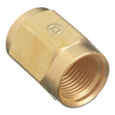 WESTERN ENTERPRISES Regulator Inlet Nuts, Air, Brass, CGA-347, Hand-Tight
